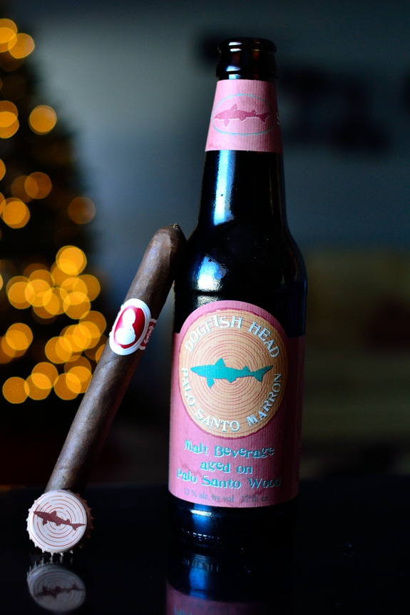 My Father La Duena and Dogfish Head Palo Santo Marron