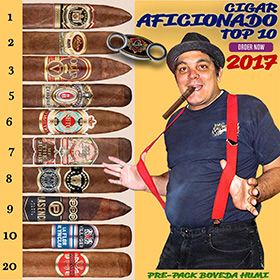 Cuenca Cigars 2017 Top 10 Cigars