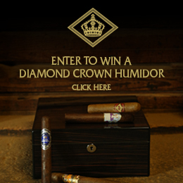 Enter to Win a Diamond Crown Humidor