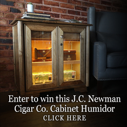 Enter to Win a J.C. Newman Cigar Co. Cabinet Humido
